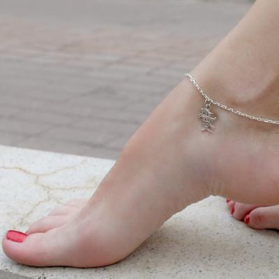 Как определить размер браслета на ногу